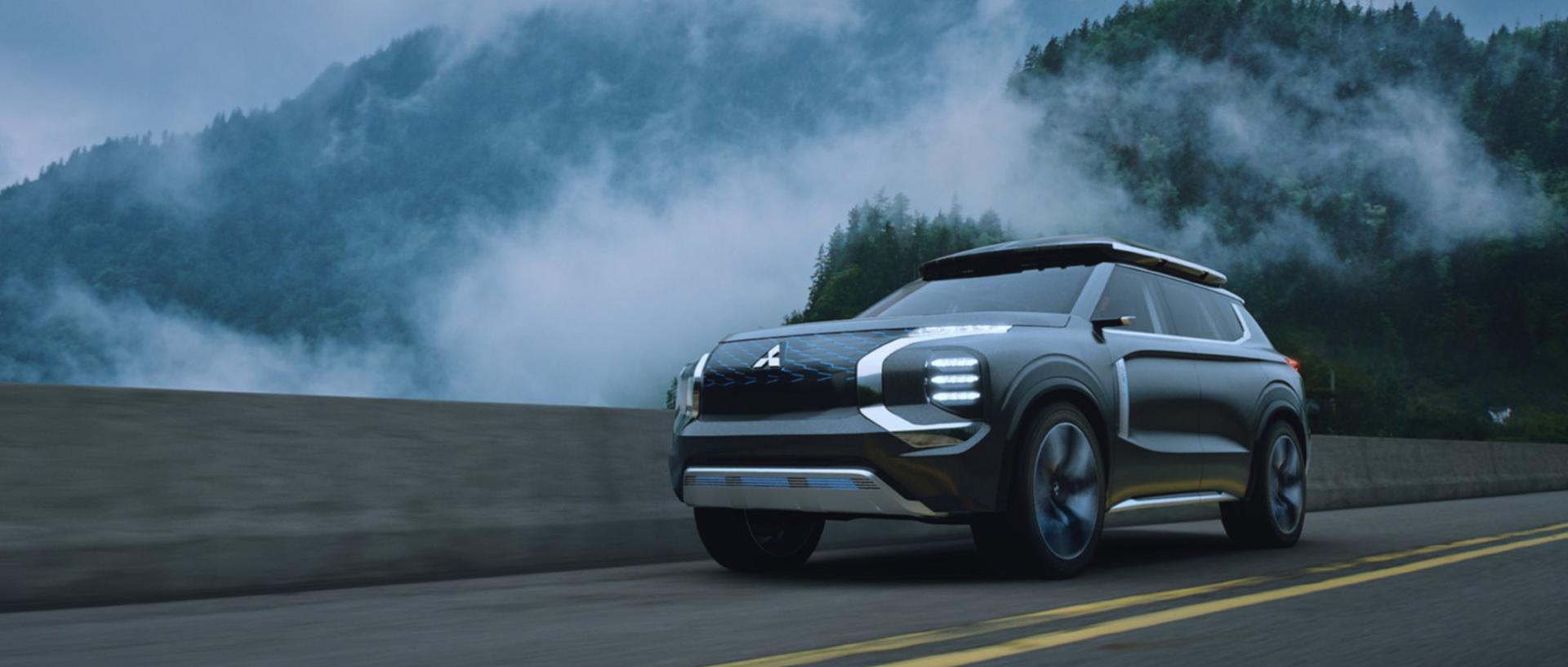 Mitsubishi — eYi Concept